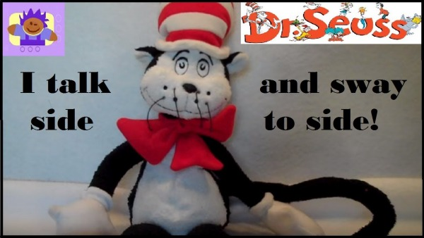 Dr. Seuss Cat In The Hat - talking plush toy (2006)