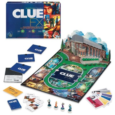 Electronic Talking Clue FX Game