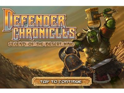 Defenders Chronicles: Legend of the Desert King